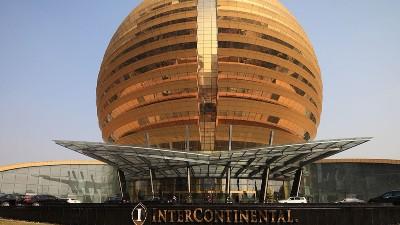 星级酒店 | OBE(欧必翼)超高旋转门服务于G20峰会主场地
