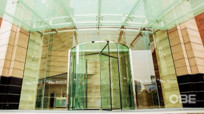 商业写字楼 | OBE水晶旋转门,以纯粹之物,现纯粹之心