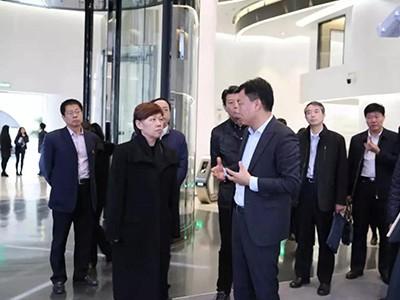 北京市委常委、统战部部长齐静一行莅临OBE科技集团调研考察