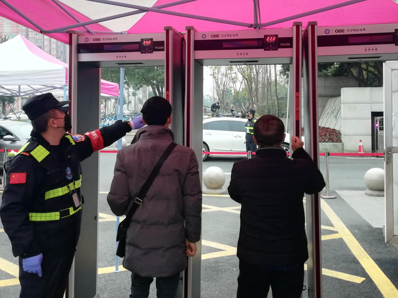 校园防疫,OBE红外测温安检设备为师生严守安全线